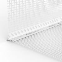GIMA PVC-Tropfkantenprofil mit WDVS-Gewebe