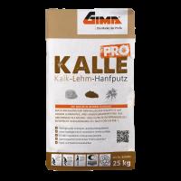 GIMA KALLE PRO - Kalk-Lehm-Hanfputz