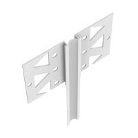 Vorschau: GIMA PVC Dehnfugenprofil für Innen als Eck- oder Flachprofil