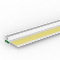 Vorschau: Anputzprofil mit flexibler Abziehlasche und Gelklebeband