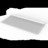 Vorschau: Sturz- und Spachtelprofil mit Gewebefahne