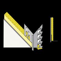 Vorschau: Gedämmte primusLPS Polytherm Laibungsplatte Typ 36 zum Anschluss an konventionelle Innenputzsysteme*