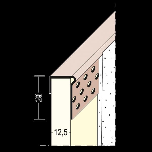 PVC Einfass- und Abschlussprofil