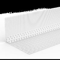 WDVS-PVC-Kombiwinkel mit WDVS Gewebe