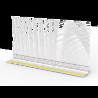Vorschau: Laibungsanschlussprofil Basic Line mit Gewebe