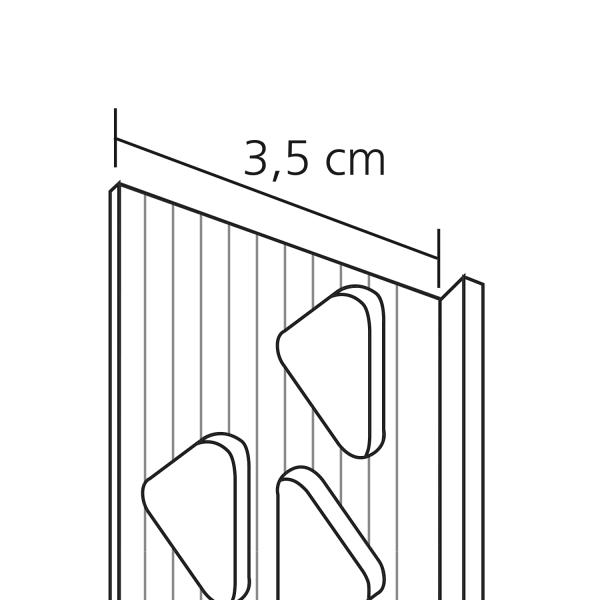 GIMA PVC Abschlussprofil für Außenputze