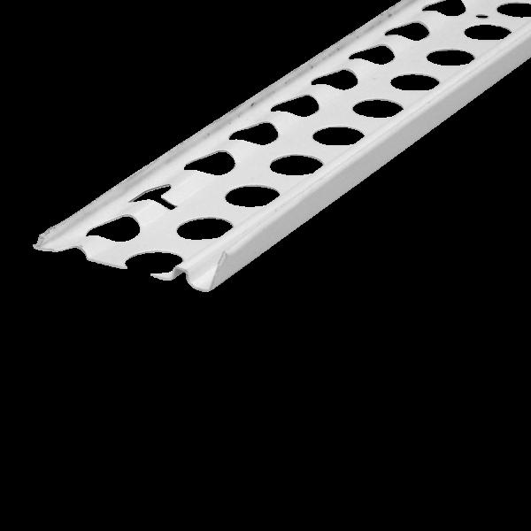 Sockelprofil Innen- und Außenputz Alu 12 mm