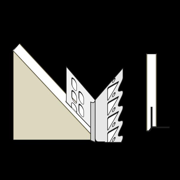 primusLPS GK Laibungsplatte Typ 33 zum Anschluss an konventionelle Innenputzsysteme*