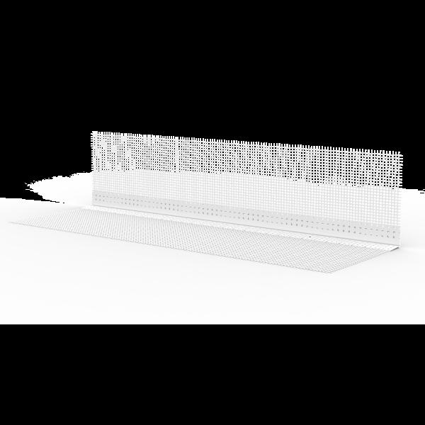 GIMA PVC Rundbogenprofil mit WDVS-Gewebe