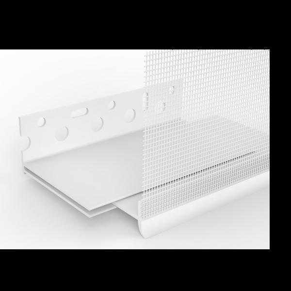 GIMA PVC-Sockelprofil Varix für WDVS