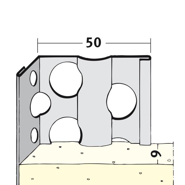 Alu-Kantenprofile 7051