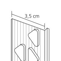 Vorschau: GIMA PVC Abschlussprofil für Außenputze