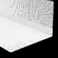 Vorschau: GIMA PVC Rundbogenprofil mit WDVS-Gewebe