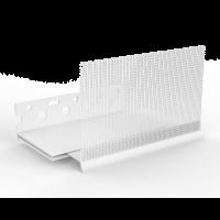 Vorschau: GIMA PVC-Sockelprofil Varix für WDVS