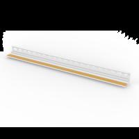 Vorschau: Anputzprofil mit gelochtem Einputzschenkel