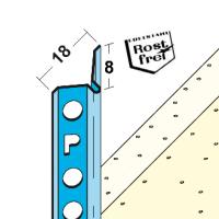 Vorschau: Schnellputzleiste V8 Edelstahl