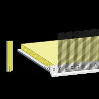 Vorschau: primusLPS Polytherm Typ 45 gedämmte Laibungsplatte mit Tropfkantenprofil