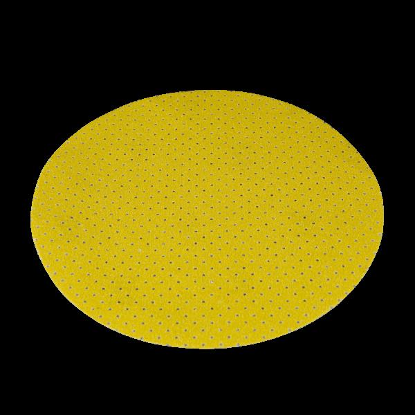 Schleifpapier gelb, perforiert für Wand- und Deckenschleifer