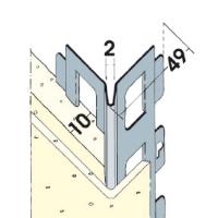 Vorschau: Kantenprofil Alu 10 mm