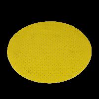 Schleifpapier gelb, perforiert für Schleifgiraffe
