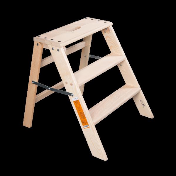 Holz Stufentrittleiter klappbar