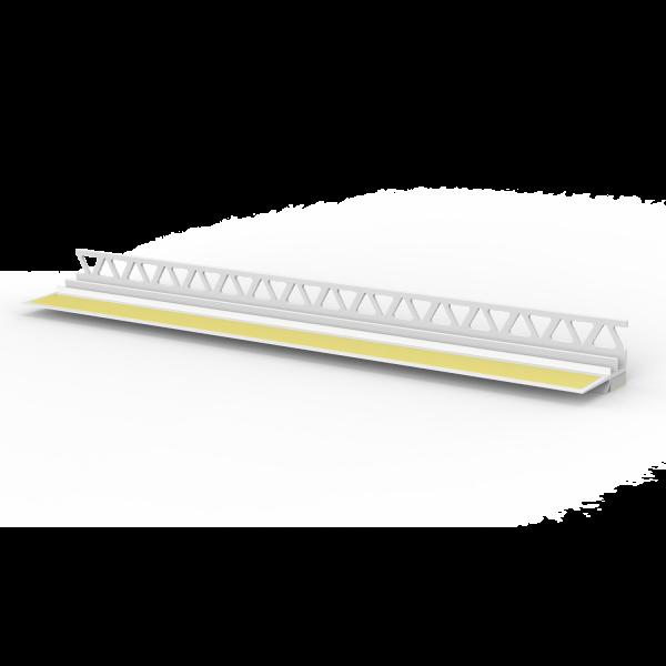 Laibungsanschlussprofil mit wandseitigem Einputzschenkel