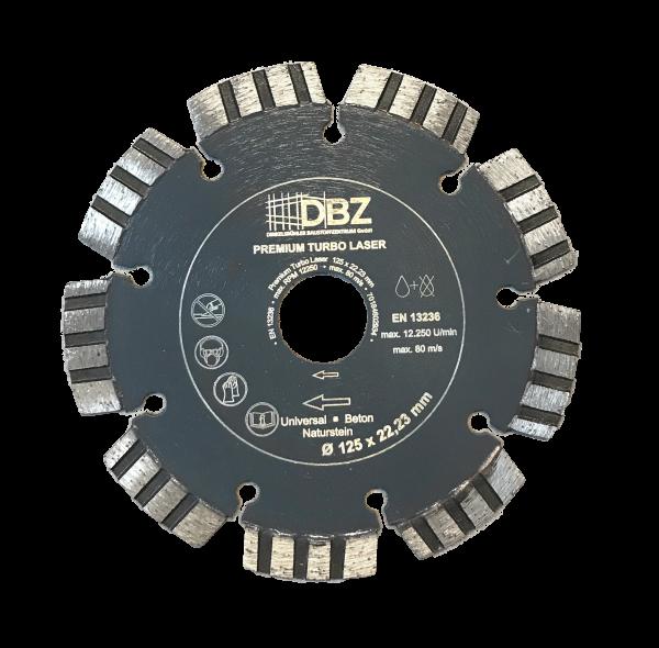 DBZ Diamantscheibe Premium Turbo Laser