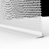 Rollladen-Abschlussprofil mit Gewebe ohne Schaumstoffklebeband