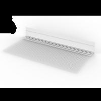 Vorschau: WDVS-Sockeleinsteckprofil PVC mit Tropfkante