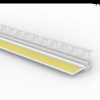 Vorschau: Laibungsanschlussprofil mit wandseitigem Einputzschenkel