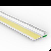 Vorschau: Anputzprofil mit flexibler Abziehlasche