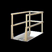 Vorschau: GIMA Deckenbodentreppe