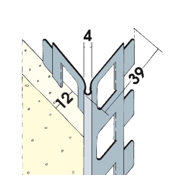 Kantenprofil Alu 12 mm