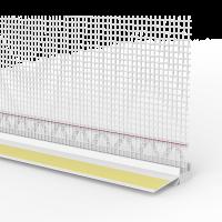 Laibungsanschlussprofil Basic Line mit Gewebe