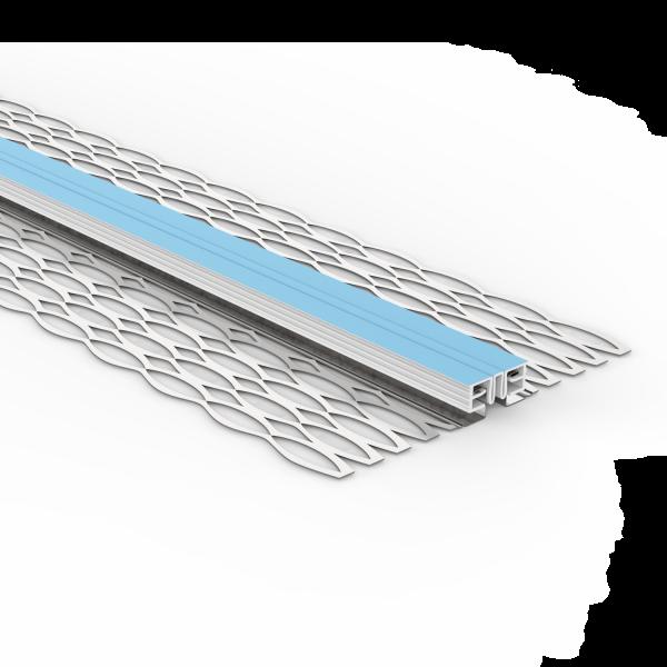 GIMA Dehnfugenprofil für Außenputze