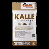GIMA KALLE Kalk-Lehm-Hanfputz