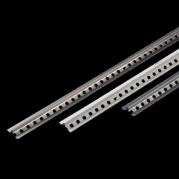 Schnellputzleiste V8 Aluminium