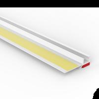 Vorschau: Anputzprofil mit flexibler Klebelasche