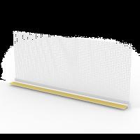 Vorschau: PVC Anputzleiste für WDVS