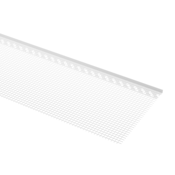 GIMA PVC-Putzabschlussprofil mit WDVS Gewebe