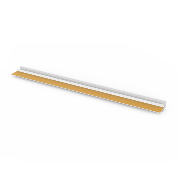 Anputzprofil mit flexibler Abziehlasche