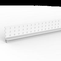 GIMA PVC Anschlussprofil mit Dichtlippe