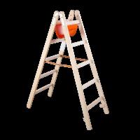 Holz Sprossenleiter