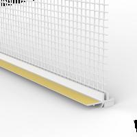 Vorschau: PVC-Laibungsanschlussprofil SL für Innen