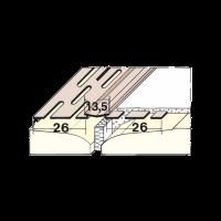 PVC-Bewegungsfugenprofil