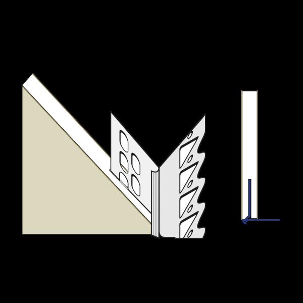 primusLPS GK Laibungsplatte Typ 35 zum Anschluss an Dünnlagenputze und Trockenbauwände*
