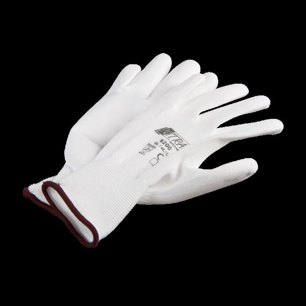 GIMA Nylon Strickhandschuhe mit PU-Beschichtung