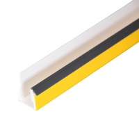 GIMA Anschlussprofil VDR 15 graue Dichtlippe